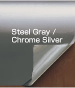 Steel Gray / Chrome Silver