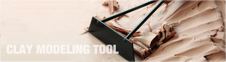 Clay Modeling Tools | Products | TOOLS INT'L Corp